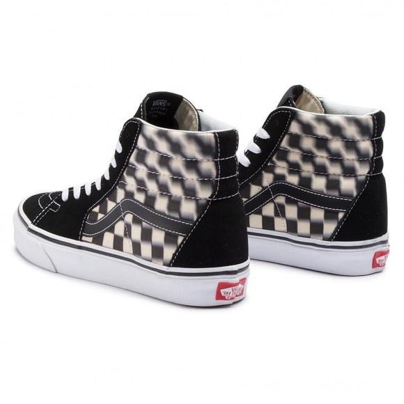 Vans Shoes | Vans Sk8hi Blur Check